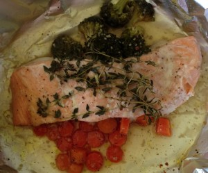 This Honey Salmon recipe makes an easy nutritious meal.