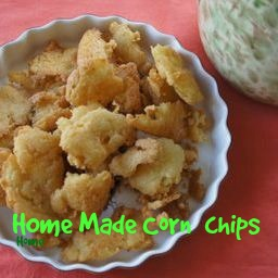 Home Made Corn Chips