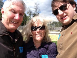 """When Jackson moved to the DC area Jack and I were """"empty nesters""""... we visit him as often as possible."""